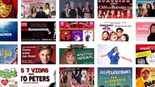 Cartelera teatral temporada 2015/2016 en Carlos Paz