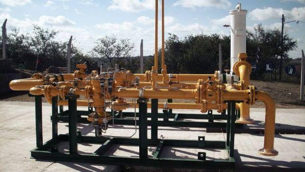 Schiaretti y Macri inaugura una planta reductora de presión en La Calera