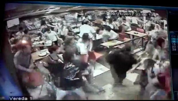 VIDEO: Así fue la estampida en Carlos Paz