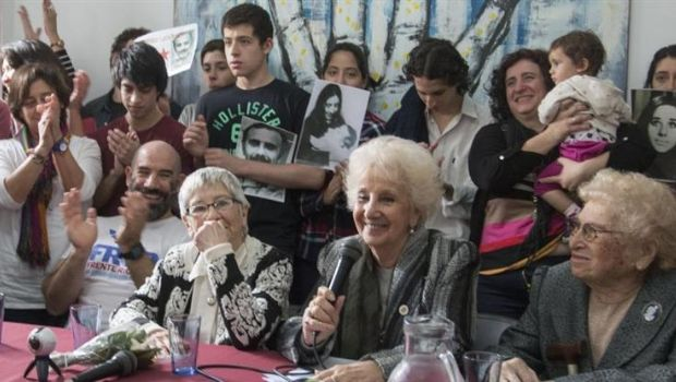 Abuelas de Plaza de Mayo informó que fue recuperada la nieta 126