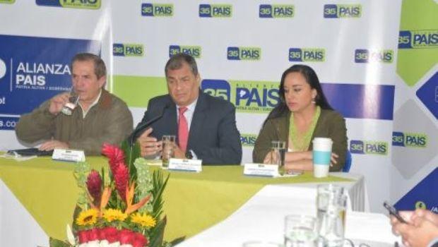 Ecuador triste, se consumó la ruptura de Alianza País