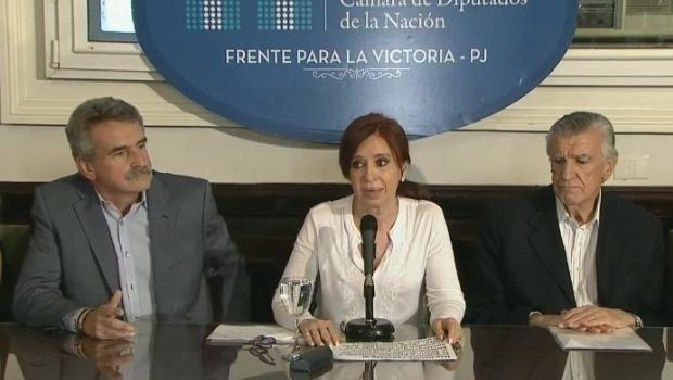 Cristina Kirchner: «Es una causa inventada sobre hechos que no existieron»