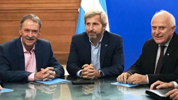 Nación firmó con Córdoba y Santa Fe el compromiso de ejecutar el saneamiento del Canal San Antonio