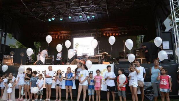 Carlos Paz albergó un festival solidario contra el cáncer infantil