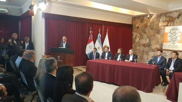 Carlos Paz recibió cámaras de seguridad y presentó la nueva base operativa