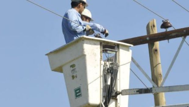 EPEC normalizó el servicio en el centro de la ciudad