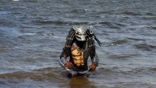 """Un """"Depredador"""" suelto en el lago San Roque"""