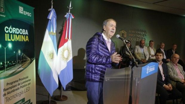 Carlos Paz, entre las treinta ciudades  iluminadas por la Provincia