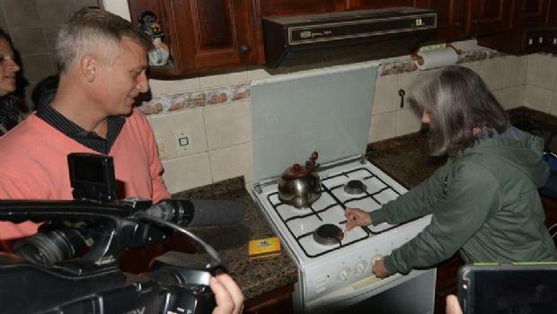 Más de cien familias de Carlos Paz vivirán su primer invierno con gas