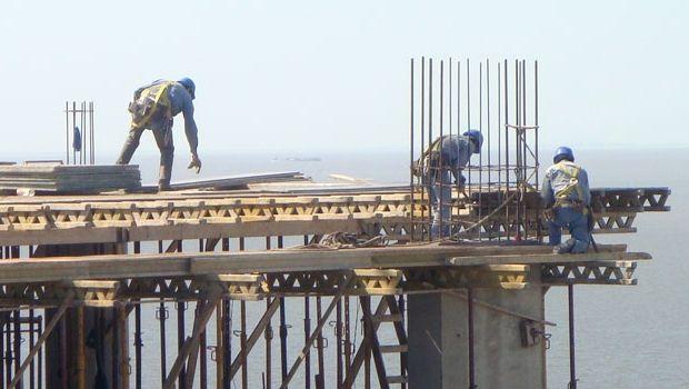 La construcción creció un 2,2 % en el primer trimestre