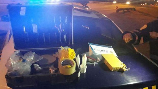 Policía de Córdoba halló 102 kilos de drogas en un control de ruta