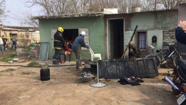 Un adolescente de 14 años falleció en incendio en Marcos Juárez