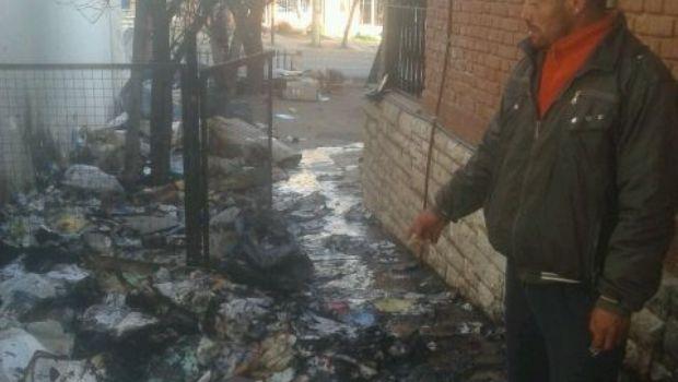 Prendió fuego el refugio nocturno de Carlos Paz para matar a su ex mujer