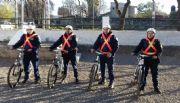 Suman un nuevo cuerpo de bici policías a Sierras Chicas