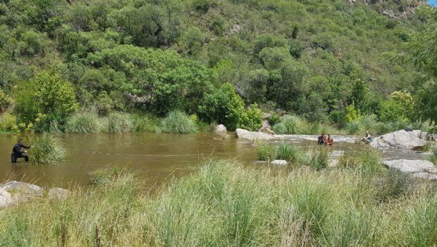 Rescataron a turistas atrapados por la creciente en Los Chorrillos