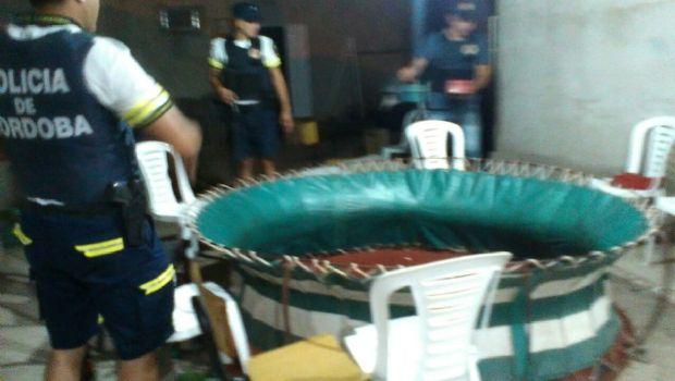 Traslasierra: 43 detenidos sorprendidos en una riña de gallos
