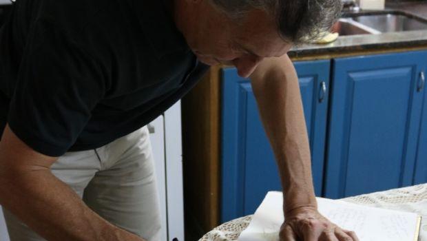 Macri visitó una casa de té en Gaiman